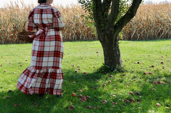 Sewing A 1908 Ladies HouseDress